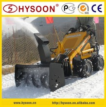 China Supplier Skid Loader with Snow Thrower