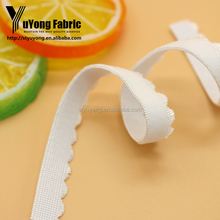 Brighten Color White Stain Fabric Elastic Band Sideband For Bra