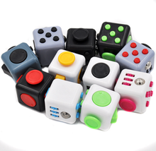Magic cube a vinyl desk cube toy Anti-anxiety decompression decompression dice