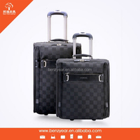 leather luggage 2013 eminent trolley luggage for men