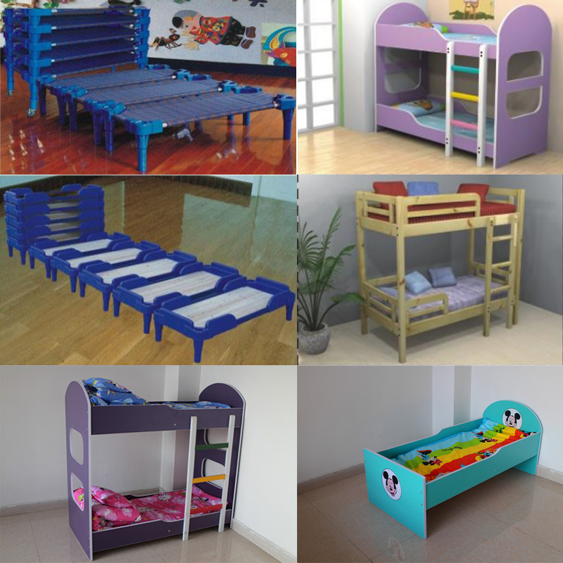 New design children solid wood bed for kids bed