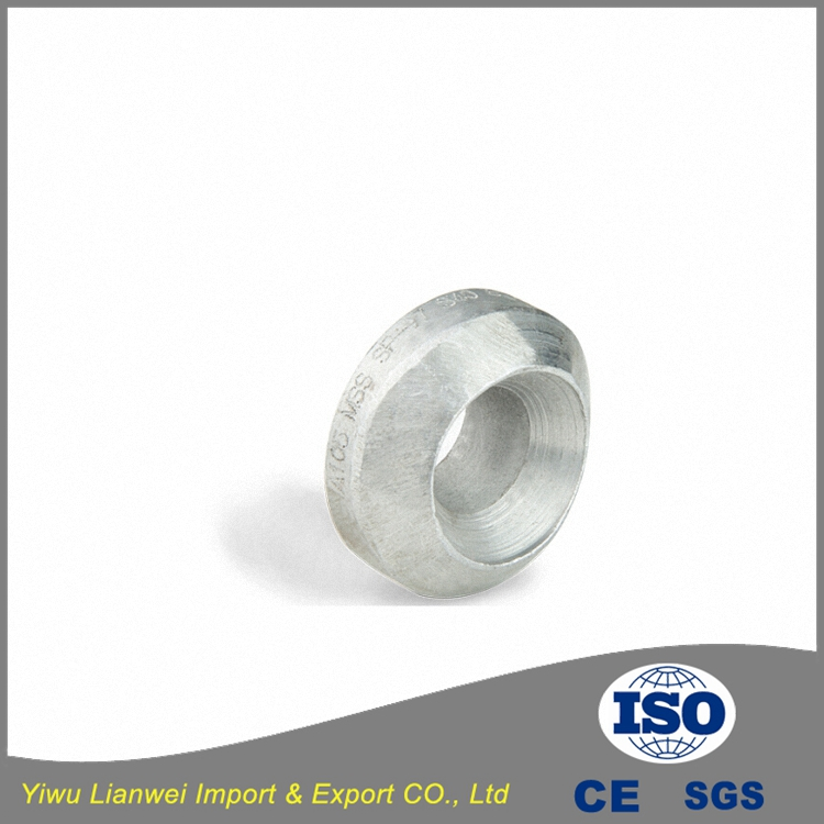 Carbon steel high pressure weldolet for pipe fittings