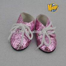 18inch plastic toy doll shoes