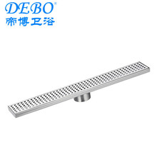 Stainless steel floor drain/shower drain/drain with plastic syphon