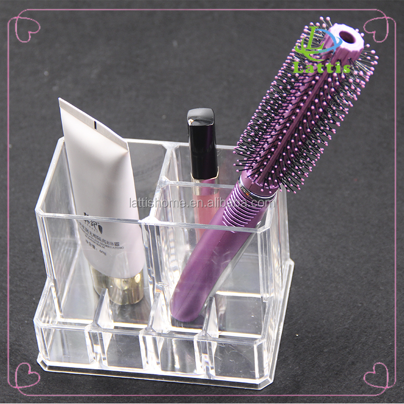 Acrylic Cosmetic storage/ Makeup Organizer 5 Drawers with handle