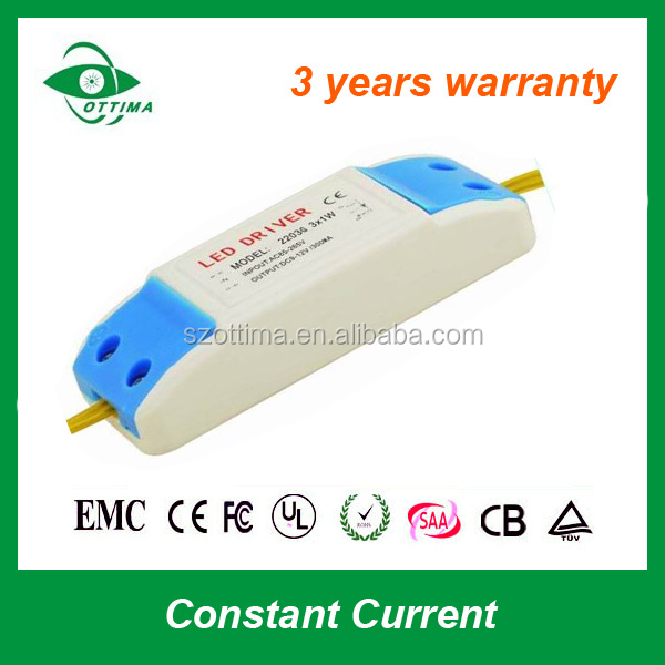 Constant current led transformer for Ceiling Lamp 12W 700ma triac dimmable panel light led driver