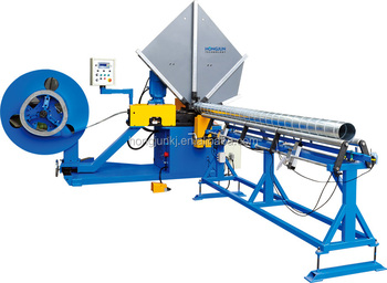 HJTF1500 Spiral Tube Forming Machine (Roll Shears)