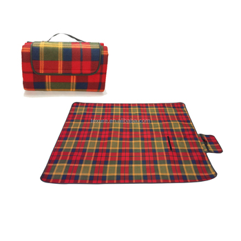 Best Waterproof Picnic Blanket Foldable Outdoor Picnic Blanket with Waterproof Backing