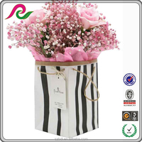 Flower Packing 25kg kraft Paper Gift Bag With handles