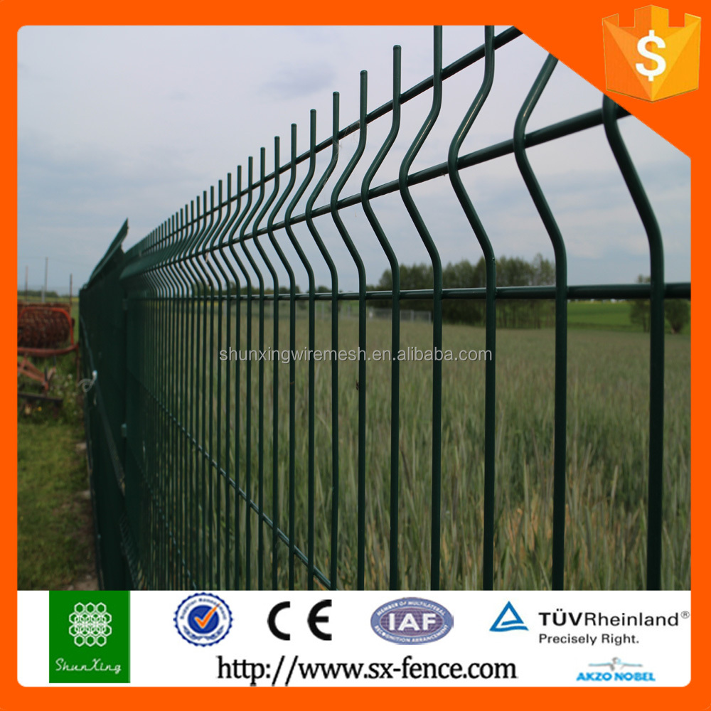 ISO9001 Factory Supply Powder coated Nylofor 3d Fence/Nylofor 3D Panel/Nylofor 3D Wire Mesh Fence