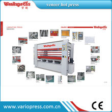 hot sale mesin woodworking hot press