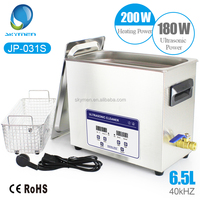 Skymen Stainless Steel 6L Industry Heated Digital Ultrasonic Cleaner Heater / Timer