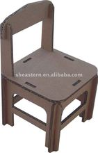 Practical corrugated paper chair