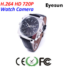 H.264 HD 720P high quality watch camera,Spy watch camera