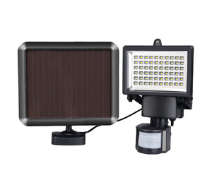 Waterproof 60Led solar powered shed camping chicken coops wall mounted lamp light for outdoor indoor high brightness with timer