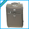 PU carry on leather luggage patent leather luggage