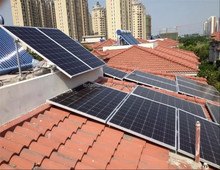 tile roof solar panel roof mount/home solar panel installation