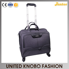 Polyester briefcase laptop trolley bag