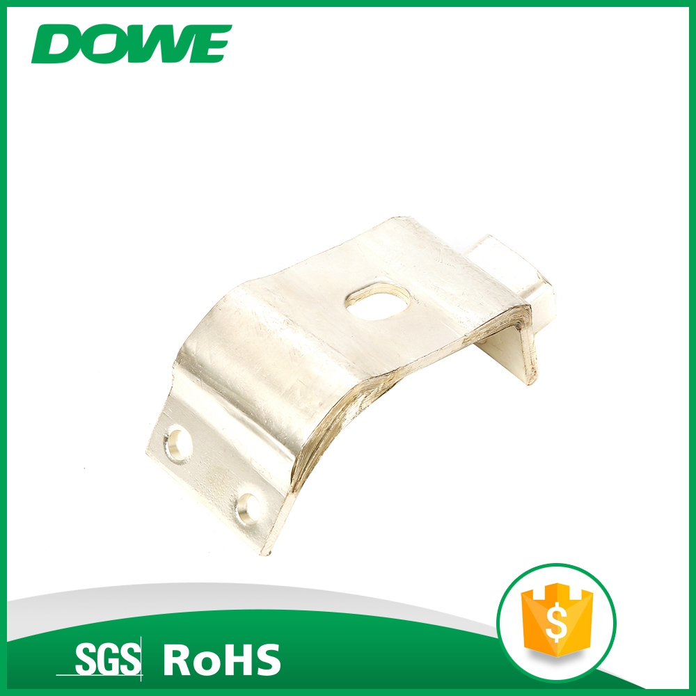 China sale Ti safe reliable electrical flexible copper busbar