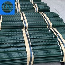 50x50mm inground post ornamental steel fence 50x50mm post steel upright fence 6' no holes t-rail heavy fence post
