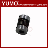 BB 10x10 D22 L32 shaft encoder motor coupler type coupling shaft flexible spring encoder coupling engineering