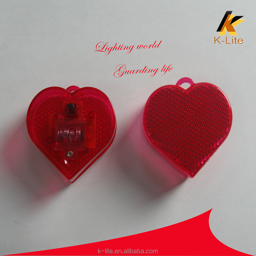 KW-125 Big heart reflex reflectors,chirsmas tree lighting