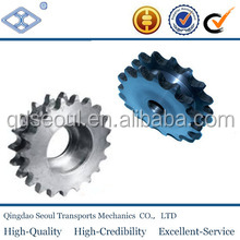 ASA standard 50 pitch 15.875 roller 9.52 stainless steel simplex roller chain 29T oem wheel