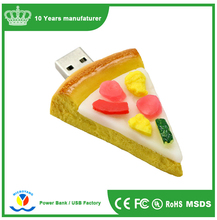 Wholesale NEW cool food usb Memory Stick Flash Pen Drive, Donut and Fast Food USB French Pizza Shape USB 2.0 Flash Drive Stick