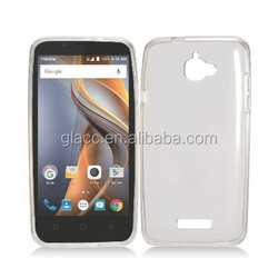 skin soft cover tpu case for Coolpad Catalyst c3622 , clear Crystal Skin Cover for Coolpad Catalyst C3622