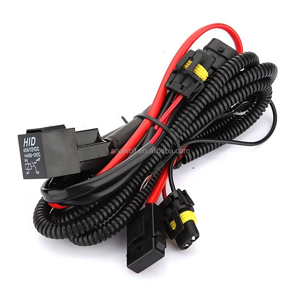 9006 Hb4 Hid Xenon Relay Wiring Harness Kit Solves Issues Electrical Systems Conversion Buy
