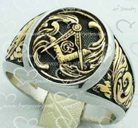 High quality masonic signet ring with cheap price
