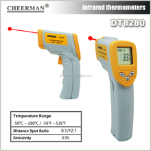 Cheerman DT8280 low temperature IR infrared digital industrial thermometer with OEM ODM service non contact thermometer