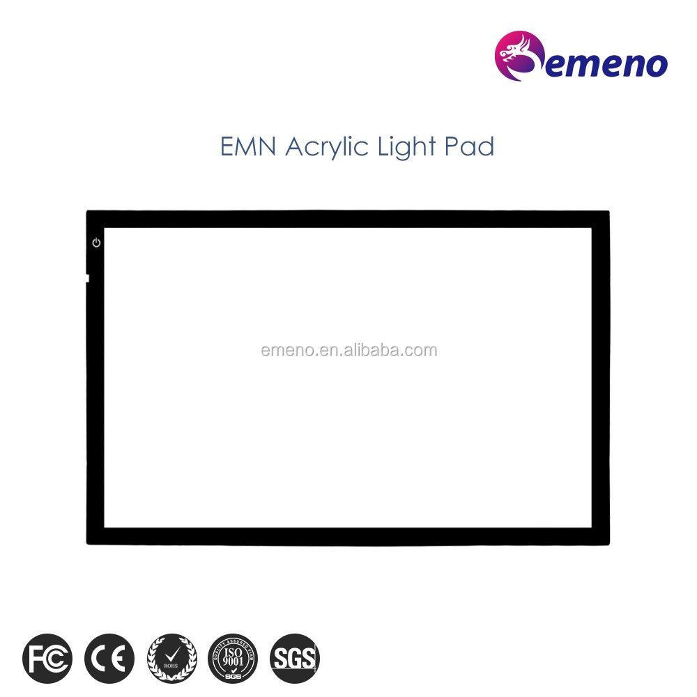 new design waterproof led tracing light table drawing A4 writing pad