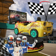 3d movies 360 degree racing car for game machine racing cars