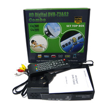 HD 1080P DVB-T2 + S2 COMBO Digital Video Broadcasting TV Receiver H.264 / MPEG-2/4 Compatible DVB-S/DVB-T Set-Top Box