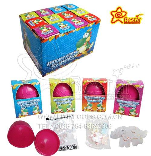 Diversi tipi di carta tatuaggio e dinosauro puzzle di caramelle in plastica sorpresa uovo di - Diversi tipi di carta ...