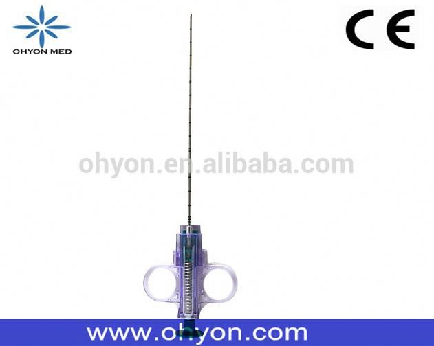 Soft tissue disposable breast biopsy needle with ISO/CE