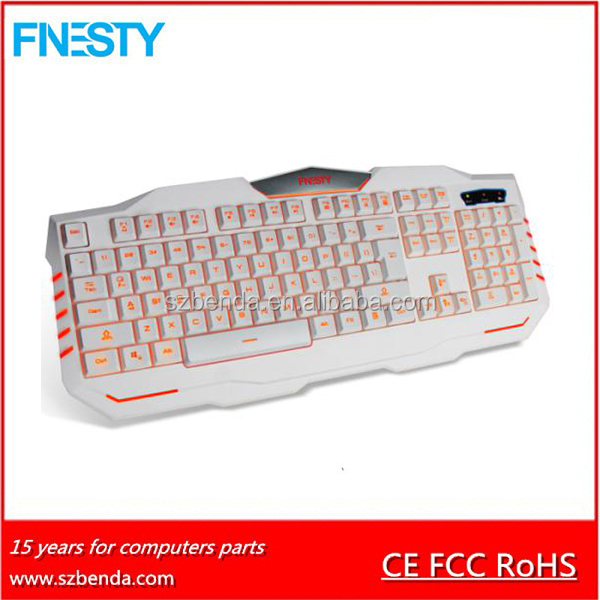 2016 Best selling fashion backlight gaming keyboard