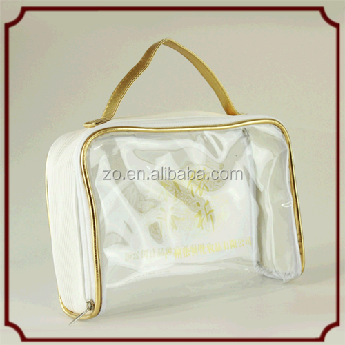2015 Large clear plastic zippered storage bag