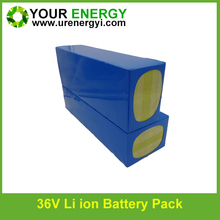 high power rechargeable bicycle 36v 30ah battery lifepo4 good quality