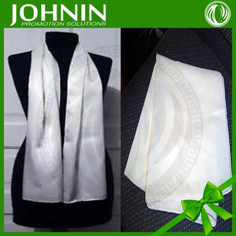 Wholesale new custom promotional blank silk scarves