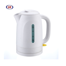 Manufacturer Supply CE Approved plastic 1.8l cordless tea water electric kettle
