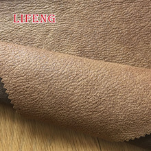 knitting polyester micro burn out blackout suede leather sofa upholstery fabric