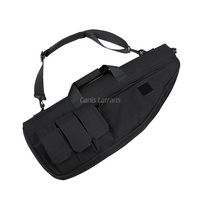 HK12-0002Tactical AEG Rifle Sniper Paintball Gun Bag Soft Gun Case Mag Pouch