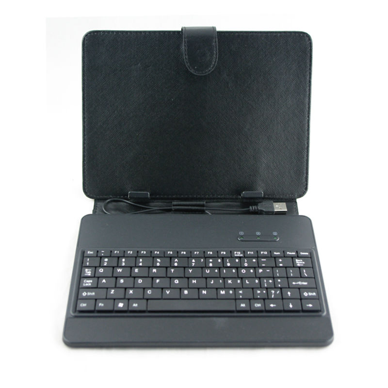Super Seek and slim 8 inch keyboard case for tablet pc MID notbook usb 2.0 mini micro