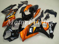 for suzuki gsx r1000 k7 2007-2008 gsxr1000 fairing kit gsxr1000 07 gsxr 1000 bodykit gsxr1000 08 gsx orange black