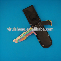 High quality custom colorful best outdoor knife