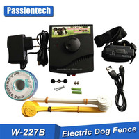 Rechargeable In-Ground Electric Dog Pet Fence Containment System+Shock Collar