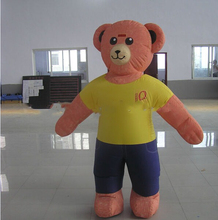 Best selling bear inflatable cartoon characters