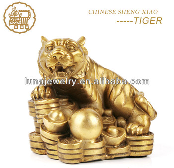 Fabulous Hong Tze Collection-Triple Chinese zodiac animals Chinese Horoscope tiger